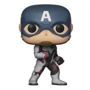 Funko Pop Capitão América com traje Reino Quântico (Vingadores: Ultimato) #450