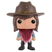 Funko Pop Carl Grimes com poncho (The Walking Dead) #388