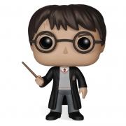 Funko Pop Harry Potter com varinha (Harry Potter Wizarding World) 01