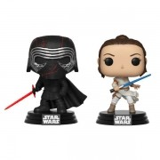 Funko Pop Kylo Ren Supreme Leader e Rey (Star Wars)