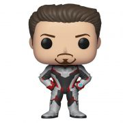 Funko Pop Tony Stark com traje Reino Quântico (Vingadores: Ultimato) #449