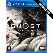 Ghost of Tsushima - PS4 (Seminovo)