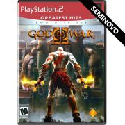 God of War 2 (Greatest Hits) - PS2 (Seminovo)
