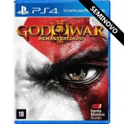 God of War 3 Remasterizado - PS4 (Seminovo)