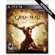 God of War Ascension - PS3 (Seminovo)