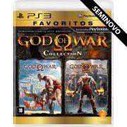 God of War Collection (Seminovo) - PS3