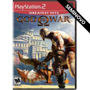 God of War (Greatest Hits) - PS2 (Seminovo)