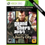 Grand Theft Auto IV The Complete Edition - Xbox 360 (Seminovo)