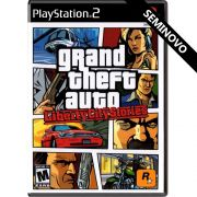 Grand Theft Auto Liberty City Stories - PS2 (Seminovo)
