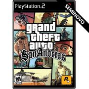 Grand Theft Auto San Andreas - PS2 (Seminovo)