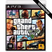 Grand Theft Auto V - PS3 (Seminovo)