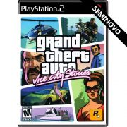 Grand Theft Auto Vice City Stories - PS2 (Seminovo)