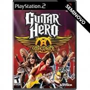 Guitar Hero Aerosmith - PS2 (Seminovo)