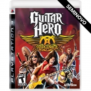 Guitar Hero Aerosmith - PS3 (Seminovo)