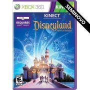 Kinect Disneyland Adventures - Xbox 360 (Seminovo)