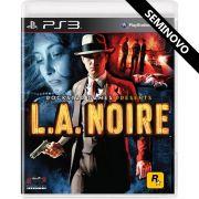 LA Noire - PS3 (Seminovo)