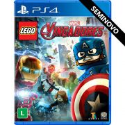 LEGO Marvel Vingadores - PS4 (Seminovo)