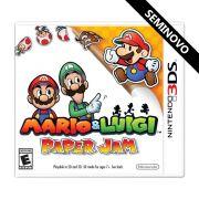 Mario & Luigi Paper Jam - 3DS (Seminovo)