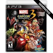 Marvel vs Capcom 3 Fate of Two Worlds - PS3 (Seminovo)