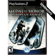 Medal of Honor European Assault - PS2 (Seminovo)