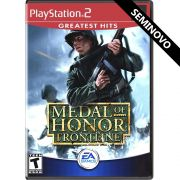 Medal of Honor Frontline (Greatest Hits) - PS2 (Seminovo)