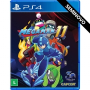 Mega Man 11 - PS4 (Seminovo)