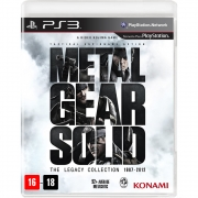 Metal Gear Solid The Legacy Collection - PS3