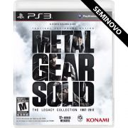 Metal Gear Solid The Legacy Collection - PS3 (Seminovo)