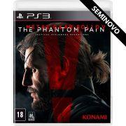 Metal Gear Solid V The Phantom Pain - PS3 (Seminovo)