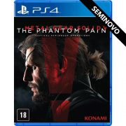 Metal Gear Solid V The Phantom Pain - PS4 (Seminovo)