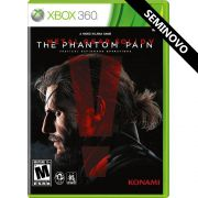 Metal Gear Solid V: The Phantom Pain - Xbox 360 (Seminovo)