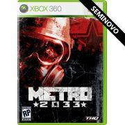 Metro 2033 - Xbox 360 (Seminovo)