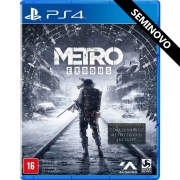 Metro Exodus - PS4 (Seminovo)