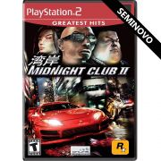 Midnight Club 2 (Greatest Hits) - PS2 (Seminovo)