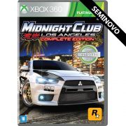 Midnight Club Los Angeles Complete Edition - Xbox 360 (Seminovo)