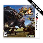 Monster Hunter 4 Ultimate - 3DS (Seminovo)