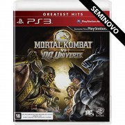 Mortal Kombat vs DC Universe (Seminovo) - PS3