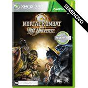 Mortal Kombat vs DC Universe - Xbox 360 (Seminovo)