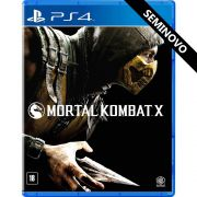 Mortal Kombat X - PS4 (Seminovo)