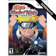 Naruto: Clash of Ninja Revolution - Wii (Seminovo)