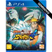 Naruto Shippuden Ultimate Ninja Storm 4 - PS4 (Seminovo)