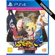 Naruto Shippuden Ultimate Ninja Storm 4 Road to Boruto - PS4 (Seminovo)