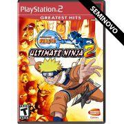 Naruto Ultimate Ninja 2 - PS2 (Seminovo)