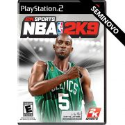 NBA 2K9 - PS2 (Seminovo)