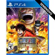 One Piece Pirate Warriors 3 - PS4 (Seminovo)