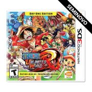 One Piece Unlimited World Red - 3DS (Seminovo)