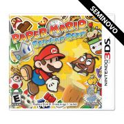 Paper Mario: Sticker Star - 3DS (Seminovo)
