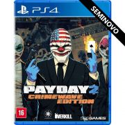 Pay Day 2 Crimewave Edition - PS4 (Seminovo)