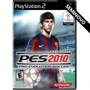 PES 2010 - PS2 (Seminovo)
