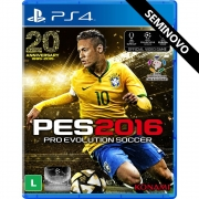 PES 2016 - PS4 (Seminovo)